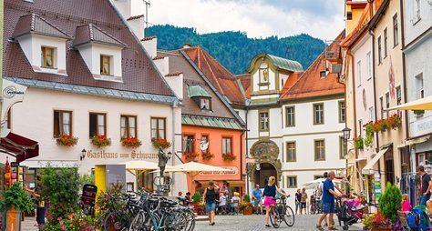 Фюссен— романтическая душа Баварии