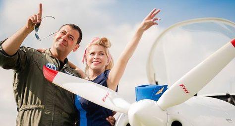 Романтический полёт для двоих (или троих)