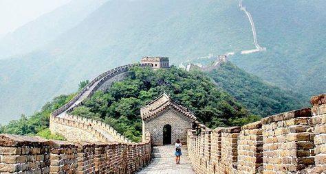 Чайная церемония наВеликой Китайской стене