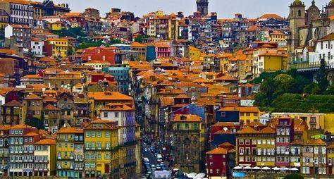 Родина Vinho doPorto ― город Порту