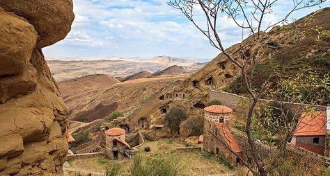 Фотопрогулка вДавид Гареджи. Пустыня идревние монастыри