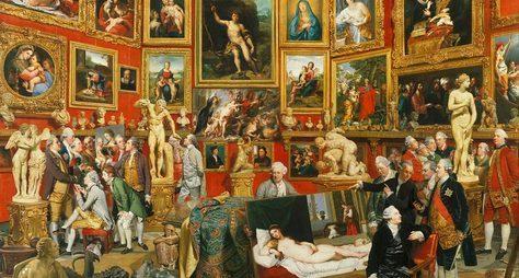 Величие ивеликолепие галереи Уффици