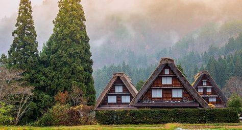 Онлайн-прогулка пояпонской деревне Сиракава-го