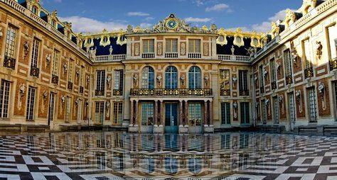 Версаль— откарточного дворца достолицы французского королевства