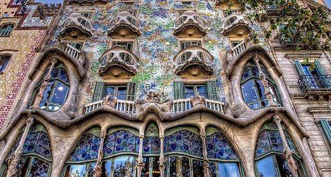 Шедевры каталонского модернизма вБарселоне