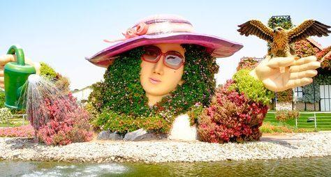 Цветущий сад иГлобал Вилладж— поразительные проекты Дубая