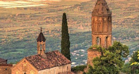 Кахетия— солнечная, историческая, винная