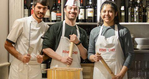 Мастер-класс: готовим пасту иджелато, как римляне!