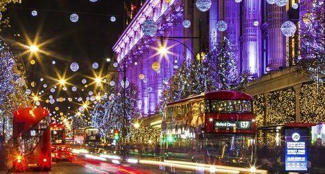 Волшебство британского Рождества