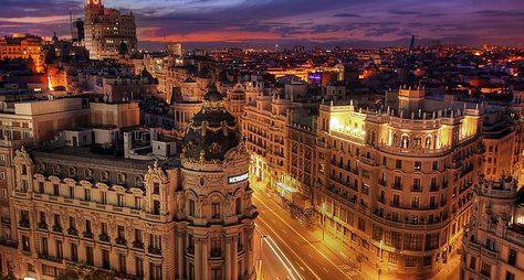 Мадрид: прошлое инастоящее