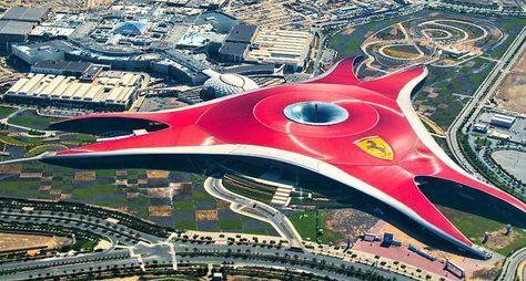 Билеты впарк Ferrari World собедом