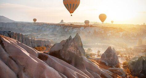 Полет над Каппадокией: достучаться донебес