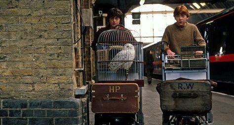 Гарри Поттер наулицах Лондона