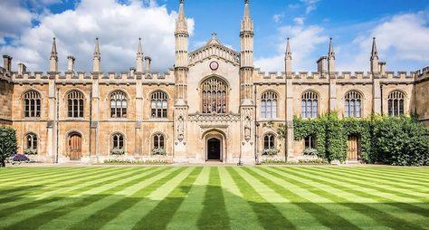 Древний город-университет Кембридж