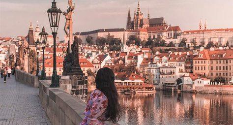 Прага пешком инаавтобусе: 4 часа, 1 любовь!