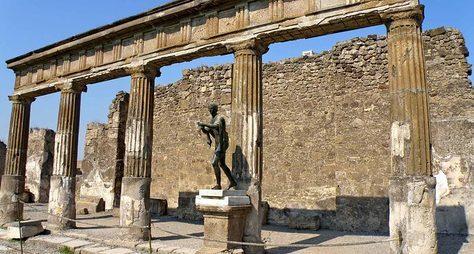 Помпеи— жизнь мертвого города