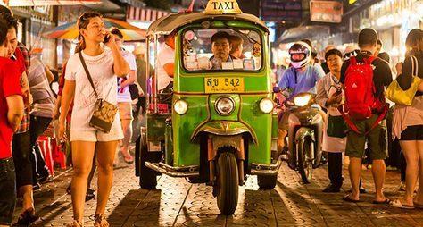 Вечерний Бангкок натук-туке!