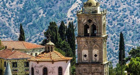 Путешествие погорным деревням Кипра