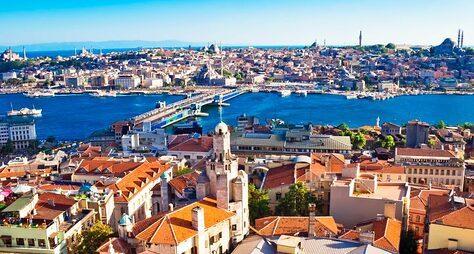 Стамбул сразных ракурсов