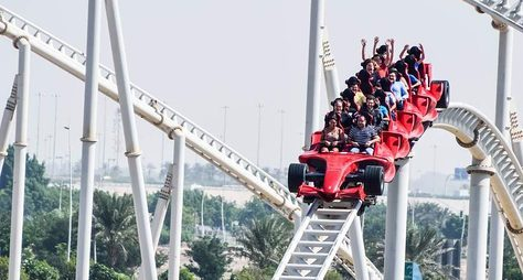 Парк развлечений «Ferrari World»