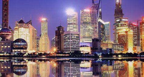 Вечерний Шанхай
