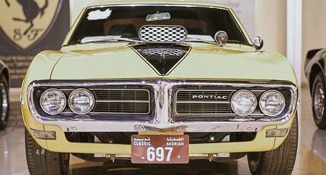ИзДубая— вмузей старинных автомобилей!